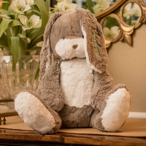 Super Sweet and Soft Monogrammed Bunny