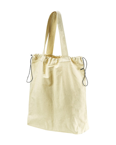 Embroidered BAGedge Drawstring Tote