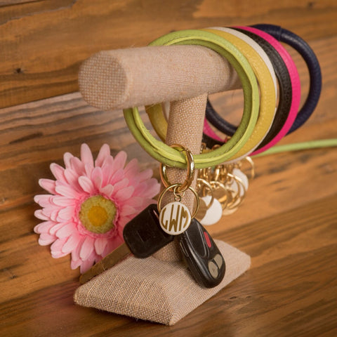 Personalized Key Ring - Choose from Six Colors!