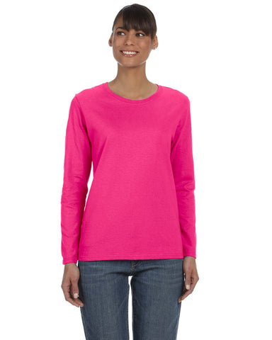 Embroidered Gildan Long-Sleeve T-shirt