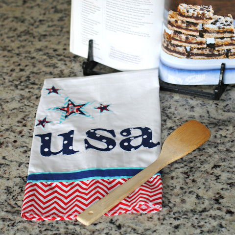 USA Tea Towel