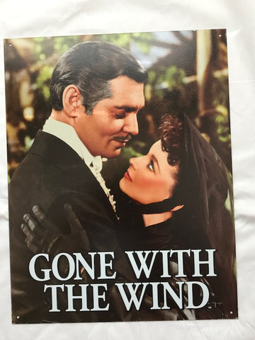 Tin Signs: Gone With The Wind