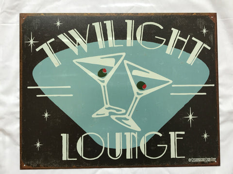 Tin Signs: Twilight Lounge
