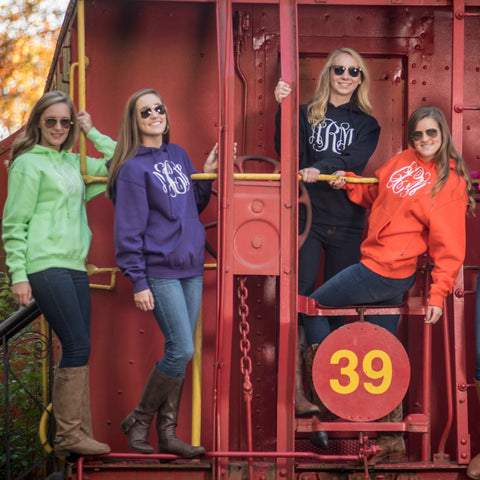 Personalized Hoodie Sweatshirt - Adult - Available in 24 Colors!