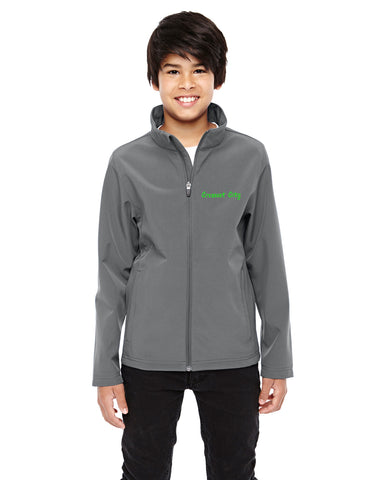 Embroidered Youth Leader Soft Shell Jacket