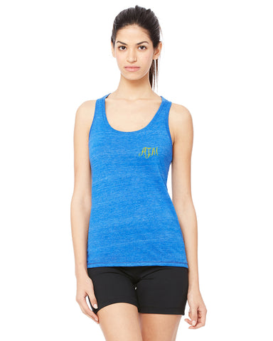 Embroidered Performance Racerback Tank
