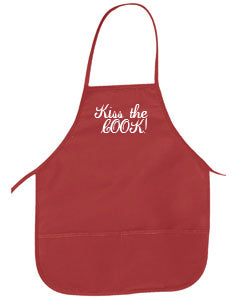 "Monogrammed Two-Pocket 24"" Apron"