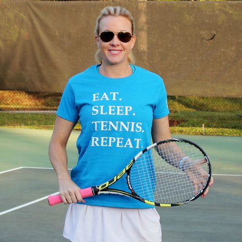 Eat. Sleep. Tennis. Repeat. Tee