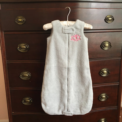Monogrammed Infant Sleep Sack