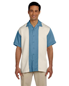 Two-Tone Bahama Cord Camp Shirt