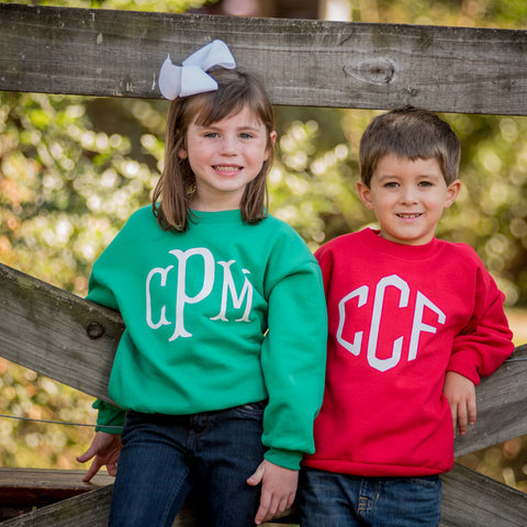 Christmas Personalized Sweatshirt - Youth