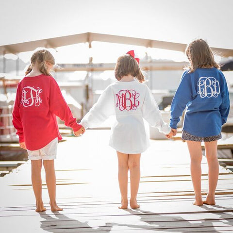 Personalized Spirit Jersey - Youth - Available in Several Colors