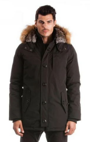 ARCTIC NORTH YELLOWKNIFE<br>80% Duvet avec Vraie Fourrure<br>Manteau d'hiver<br>5 Couleurs  |ARCTIC NORTH  YELLOWKNIFE <br>80% Down with Genuine Fur<br>Winter Coat<br>5 Colors