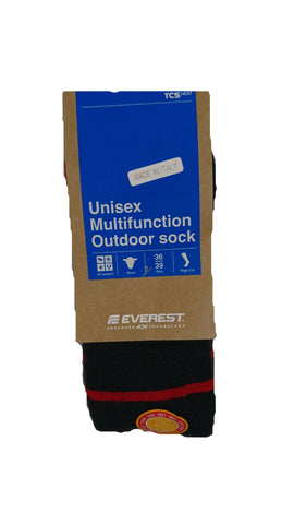 EVEREST BAS MULTIFONCTION<br>Chaussettes en Mérino<br>Femme 6-9| EVEREST MULTI FUNCTION SOCKS<br>Merino SOCKS <br>Women Size 6-9