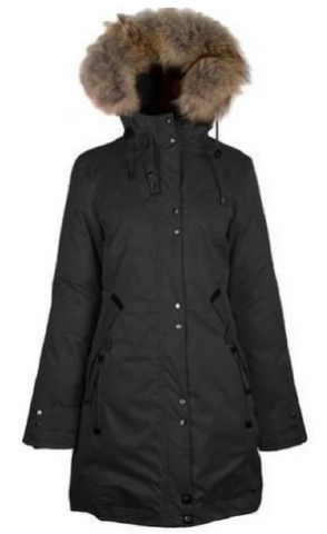 OOKPIK  SNOW<br>90% Duvet avec Vraie Fourrure<br>Manteau d'hiver|OOKPIK SNOW<br>90% Down with Genuine Fur<br>Winter Coat