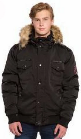 OXYGEN BOMBER ALEX<br> 50% Duvet avec Vraie Fourrure<br>Manteau d'hiver|OXYGEN BOMBER ALEX<br> Down 50% with Genuine Fur<br>Winter Coat