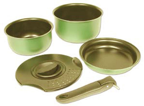 ENSEMBLE DE CUISSON POUR PÂTES<br>MEDIUM|NON STICK PASTA POT SET<br>MEDIUM