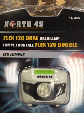 LAMPE FRONTAL North 49|HEADLAMP NORTH 49