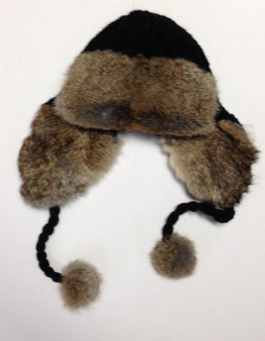 BOMBER HAT <br>Vraie Fourrure|BOMBER HAT<br>Genuine Fur