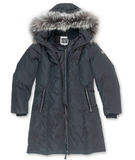 OLI ALDA XXL - XXXL<br>90% Duvet avec Vraie Fourrure<br>Manteau d'hiver|OLI ALDA XXL - XXXL<br>90% Down with Genuine Fur<br>Winter Coat