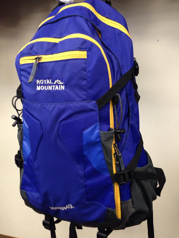 ROYAL MOUNTAIN<br>Adventure-Porte casque<br>40 Litres<br>Sac à dos de randonnée|ROYAL MOUNTAIN<br>Adventure with Helmet Pouch<br>40 Liters<br>Hiking Backpack