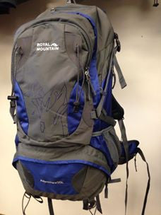 ROYAL MOUNTAIN<br>Adventure<br>55 Litres<br>Sac à dos de randonnée|ROYAL MOUNTAIN<br> Adventure<br>55 Liters<br>Hiking Backpack