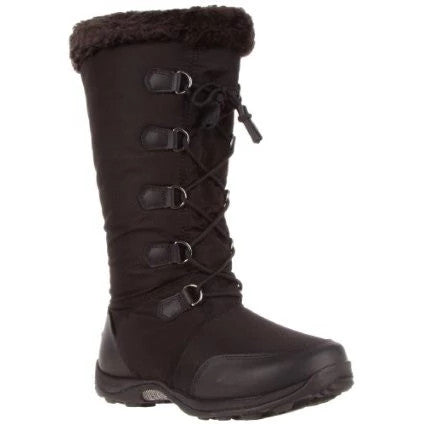 BAFFIN NEW YORK<br>BOTTES D'HIVER<br>TEMP -20°C<br>Noir Taille 6 ou 10|BAFFIN NEW YORK<br>WINTER BOOTS<br>TEMP -20°C<br>Black Size 6 or 10