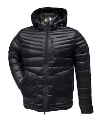 CROSSTOWN VESTE EN DUVET A CAPUCHE<br>MISTY MOUNTAIN| CROSSTOWN DOWN JACKET WITH HOOD<br>MISTY MOUNTAIN