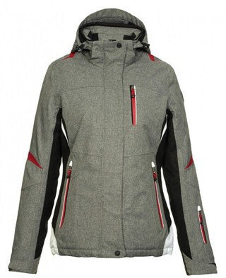 KILLTEC<br>Fenisa<br>Veste de ski <br>avec isolation|KILLTEC<br>Fenisa<br>Insulated jacket<br>BLACK