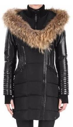 DIAMOND TRAIL JOLENE XXL-XXXL<br> Hollofil-Vraie Fourrure<br>Manteau d'hiver|DIAMOND TRAIL JOLENE XXL-XXXL<br>Hollofil-Genuine Fur<br>Winter Coat