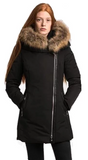 ELLABEE MELANIE<br>Polyfil avec Vraie ou Faux Fourrure<br>Manteau d'hiver|ELLABEE MELANIE<br>Polyfil with Faux or Genuine Fur<br>Winter Coat