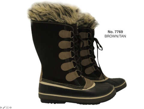 MISTY MOUNTAIN ARCTICA<br>BOTTES D'HIVER<br> TEMP -20°C<br>Taille 5 Seulement|MISTY MOUNTAIN ARCTICA<br>WINTER BOOTS<br>TEMP -20°C<br>Size 5 Only