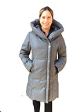 OLI CARMELLA<br>80% Duvet<br>Manteau d'hiver<br>Noir ou Gris|OLI CARMELLA<br>80% Down<br>Winter Coat<br>Black or Grey