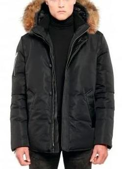 POINT ZERO BLK TOFINO<br> 80% Duvet avec Vraie Fourrure<br>Manteau d'hiver<br>|POINT ZERO TOFINO <br> 80% Down with Genuine Fur<br>Winter Coat<