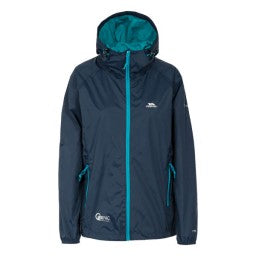 QIKPAC VESTE FEMME<br>TRESPASS<br> COQUILLE SOUPLE|QIKPAC JACKET WOMEN<br>TRESPASS<br>WATERPROOF JACKET