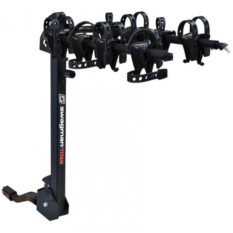 Disponible en fin Avril<br>SWAGMAN TITAN 4<br>Pour 1 à 4 vélos <br>Adaptable sur 1 1/4'' ou 2'' boule d'attelage |SWAGMAN TITAN 4<br>1 to 4 Bike rack<br> adaptable to 1 1/4'' or 2'' hitch