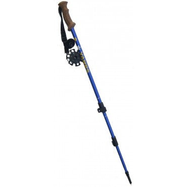 YANES<br>BATON DE MARCHE<br>Telescopique avec click<br>Poignet en Liege|YANES<br>WALKING STICK <br>Telescopic with Click<br>Cork Handle