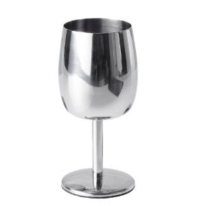 VERRE DE VIN INOXYDABLE|STAINLESS WINE GLASS
