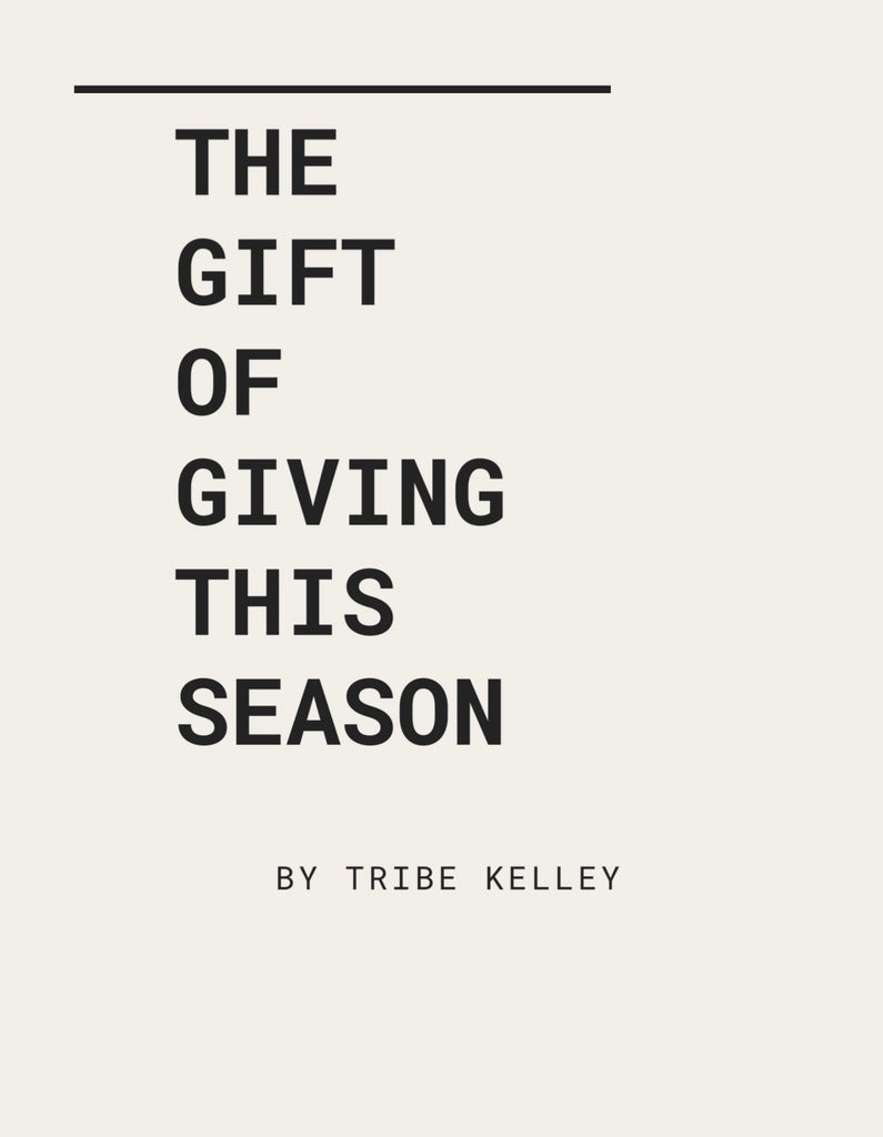 The Gift of Giving This Season!