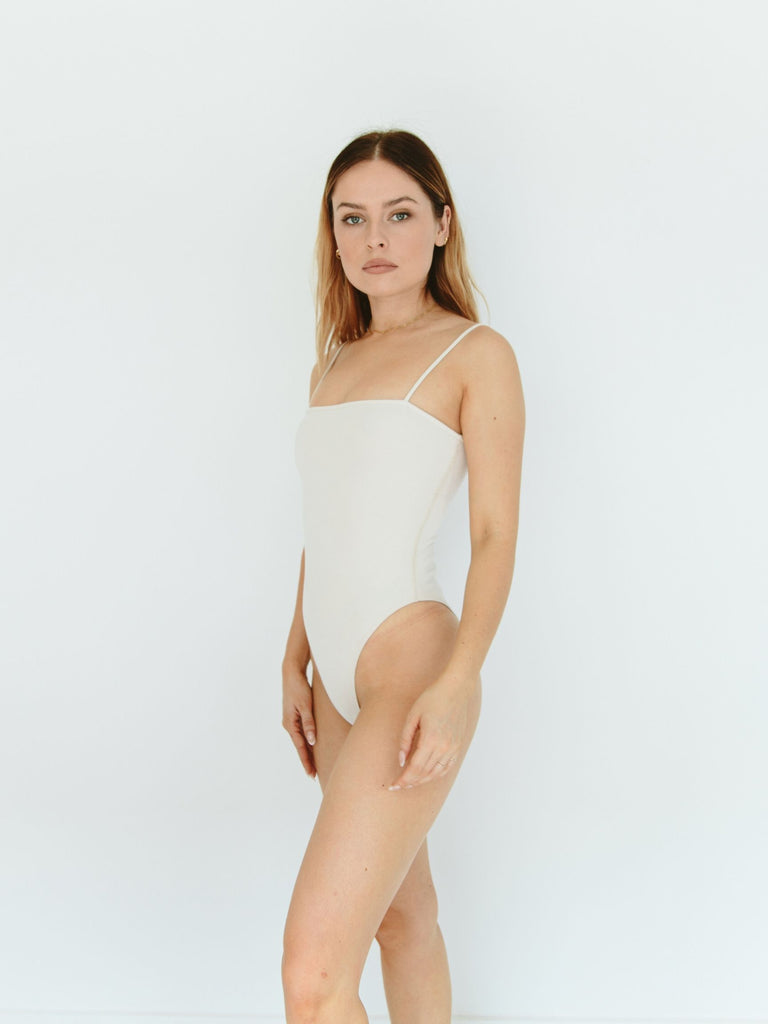 Ribbed Traveler Bodysuit