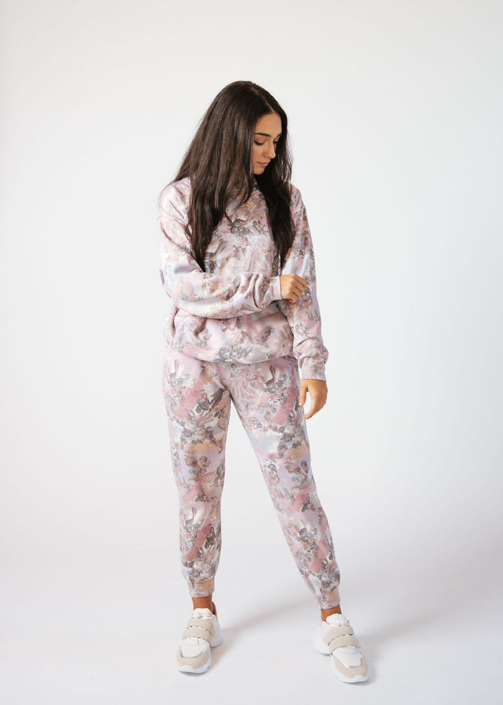 Butter Printed Sweatpants- Women
