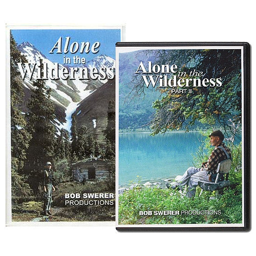 Alone In the Wilderness Parts 1 & 2 DVDs