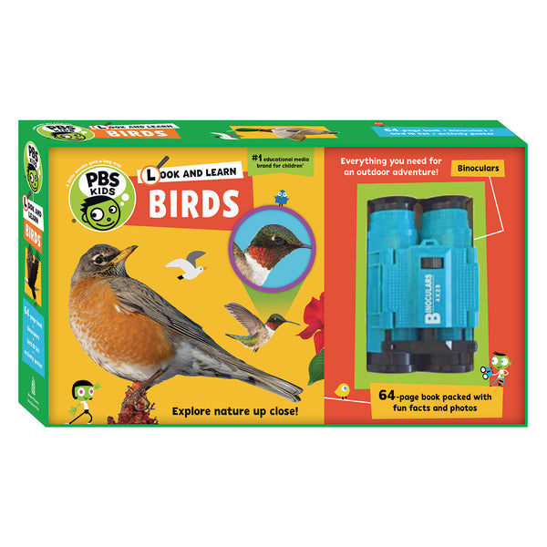 PBS KIDS Look And Learn Kit (Birds/Insects)