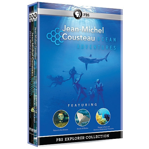 Ocean Adventures with Jean Michel Cousteau DVD Box Set