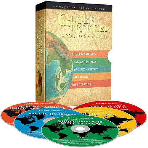 Globe Trekker: Around the World DVD Box Set