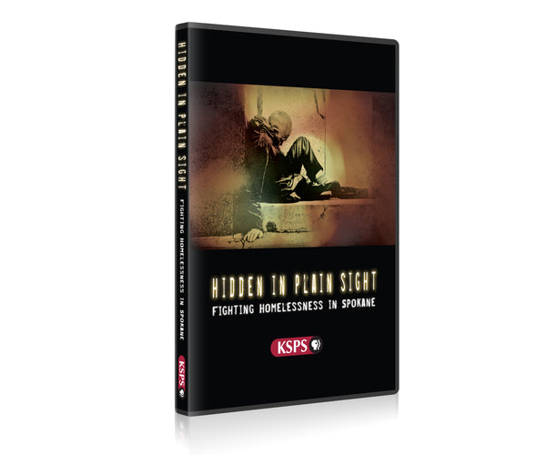 Hidden in Plain Sight Fighting Homelessness in Spokane DVD
