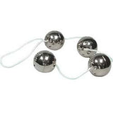 Ben Wa Balls On A String - Silver or Gold