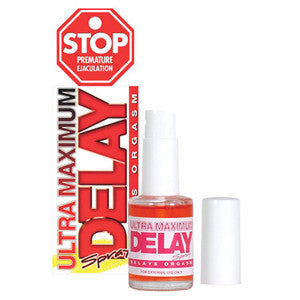 Stop Ultra Maximum Delay Spray - 1.5 oz Sexual Enhancer - SexToysEstore.com