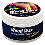 Adam Male Toys Wood Wax Masturbation Cream Lube - 4.4 oz