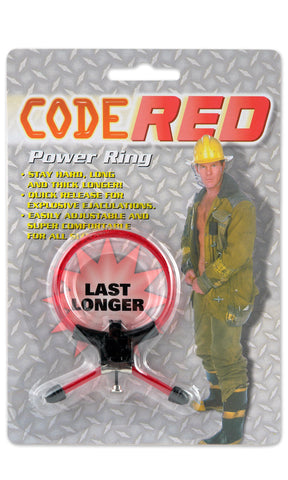 Code Red Power Ring Cock Ring